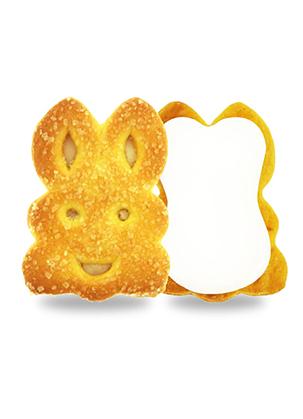 Rabbit Biscuit With Cream