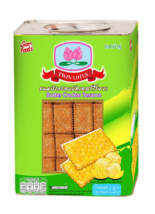 Butter cracker Sesame
